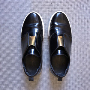 Philippe Model Shoes - Black Patent Philippe Model Sneakers EU39 US 8.5 9